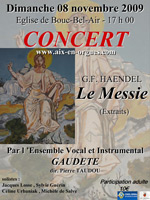 Concert messie - Ensemble vocal et instrumental Gaudette